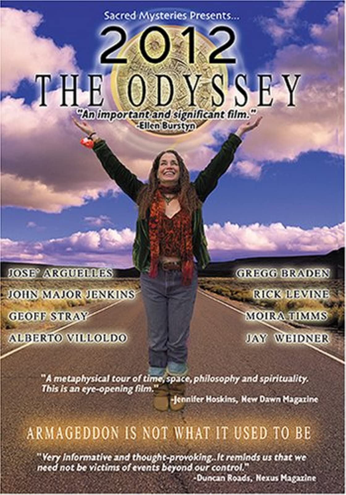 2012 The Odyssey On DVD with Gregg Braden