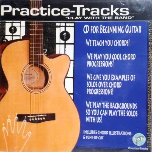 Image 0 of Practice-Tracks CD For Beginning Guitar By Practice-Tracks Composer On