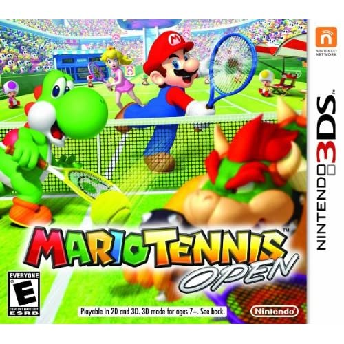 Image 0 of Mario Tennis Open For 3DS