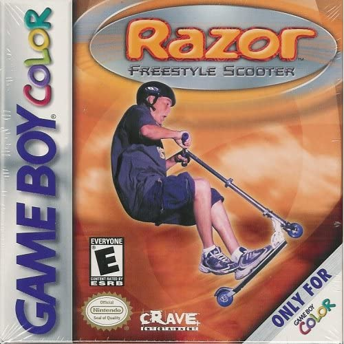 Razor: Freestyle Scooter On Gameboy Color