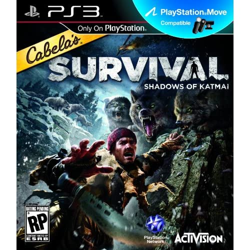 Cabelas Survival: Shadows Of Katmai For PlayStation 3 PS3