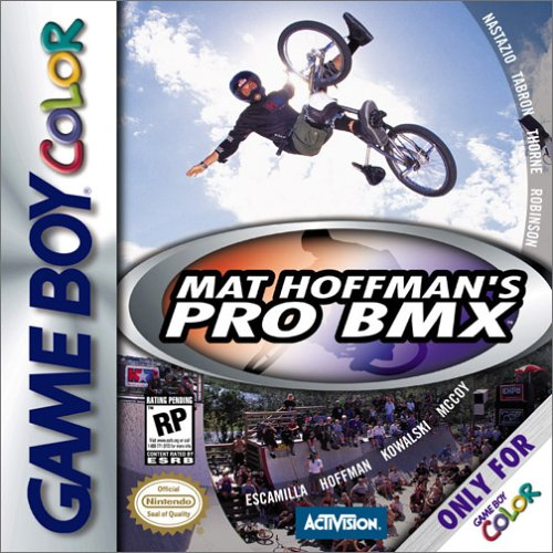 Mat Hoffman's Pro BMX On Gameboy Color