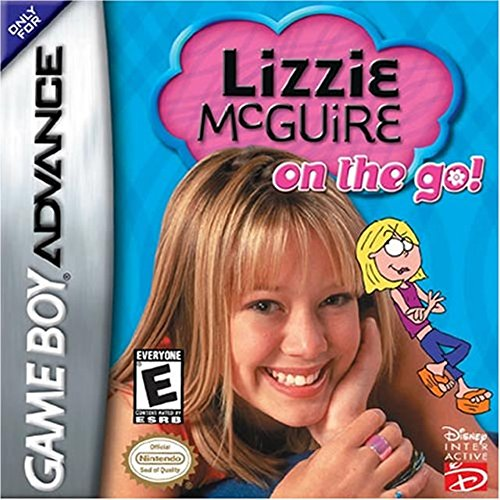Lizzie McGuire: On The Go For GBA Gameboy Advance Disney RPG