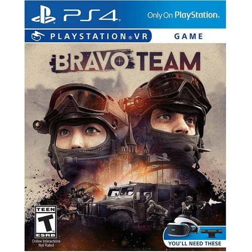 Bravo Team PlayStation VR For PlayStation 4 PS4 Shooter