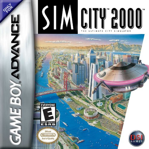Image 0 of Sim City 2000 For GBA Gameboy Advance