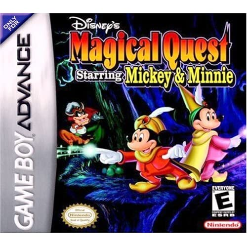 Disney's Magical Quest Starring Minnie & Mickey For GBA Gameboy Advance