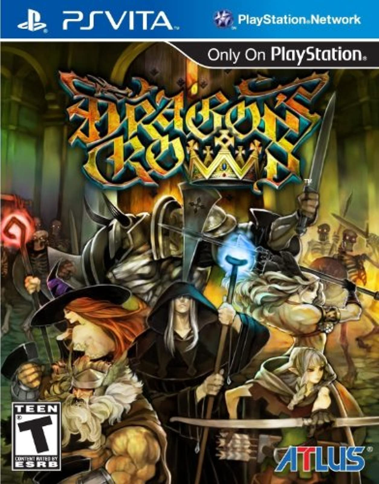 Dragon's Crown PlayStation Vita For Ps Vita RPG