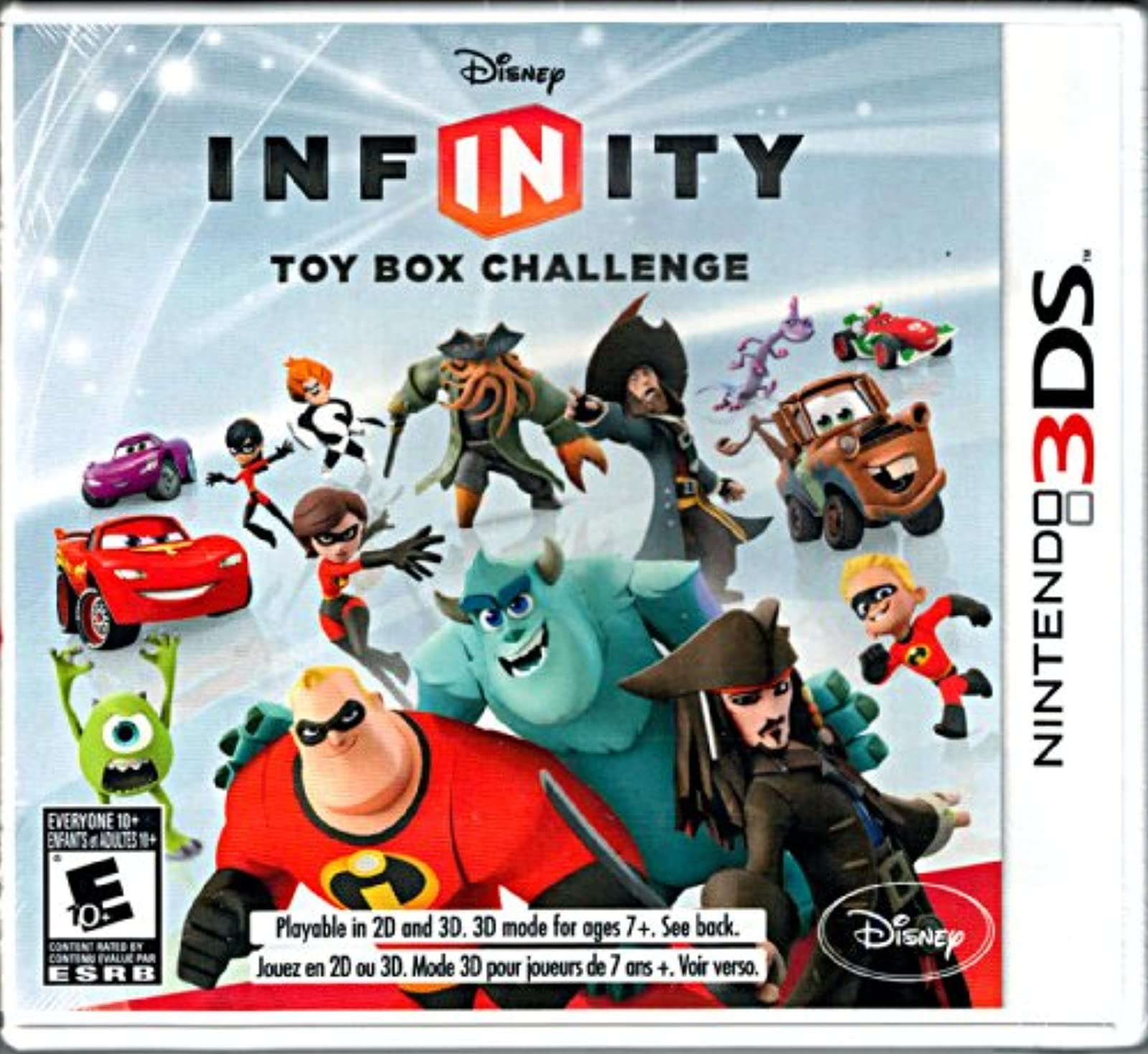 Disney Infinity Replacement Game Only No Base Or Figures Included For 3DS
