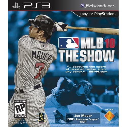 MLB 10: The Show For PlayStation 3 PS3 Baseball