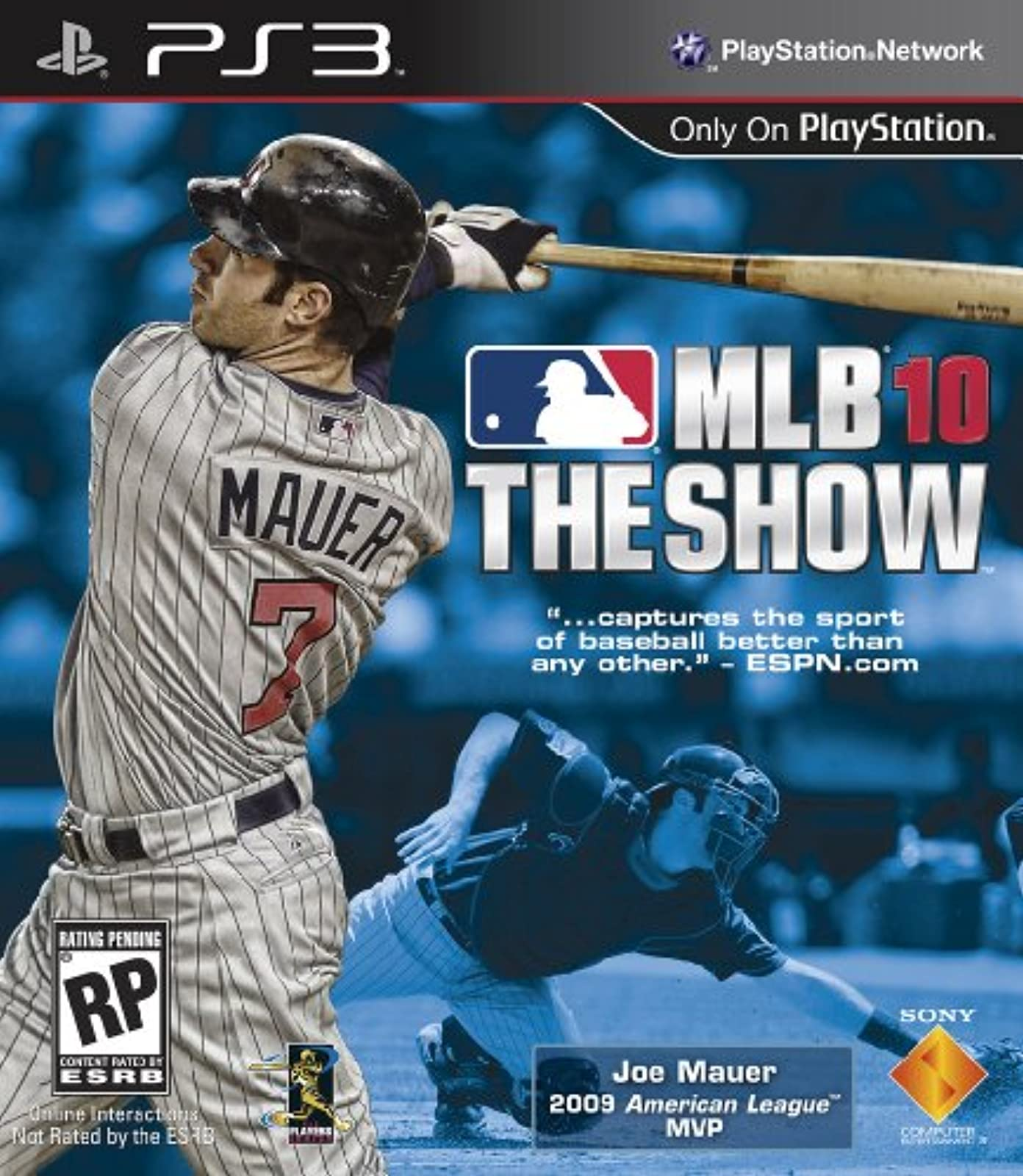 MLB 10: The Show For PlayStation 3 PS3 Baseball