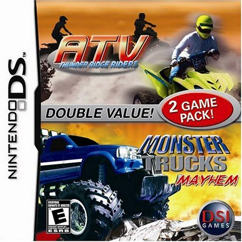 ATV Thunder Ridge Riders / Monster Trucks Mayhem For Nintendo DS DSi