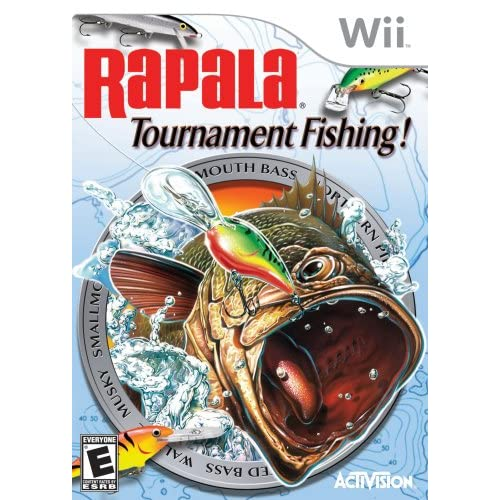 Rapala Tournament Fishing For Wii And Wii U