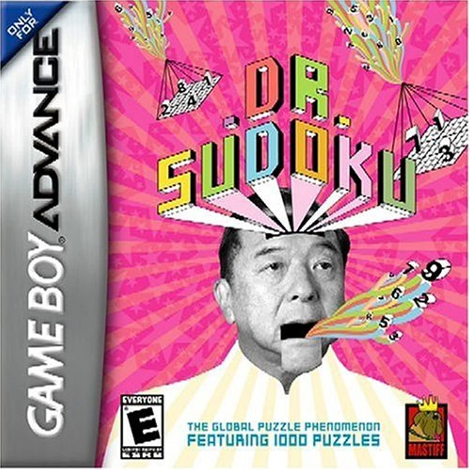 Dr Sudoku For GBA Gameboy Advance Puzzle