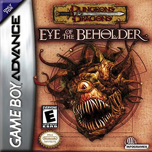 Dungeons And Dragons: Eye Of The Beholder For GBA Gameboy Advance