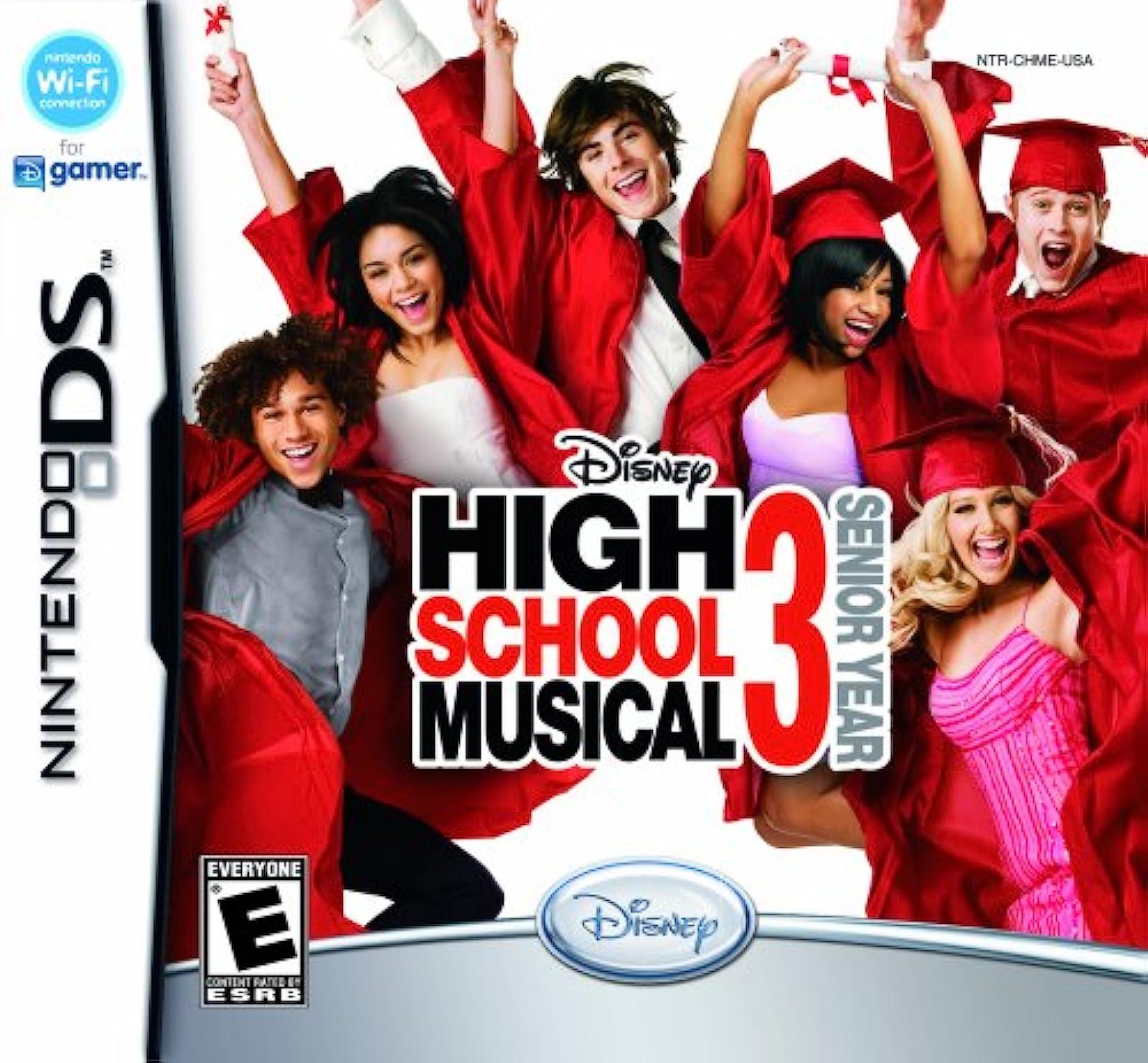 Disney High School Musical 3: Senior Year For Nintendo DS DSi 3DS 2DS