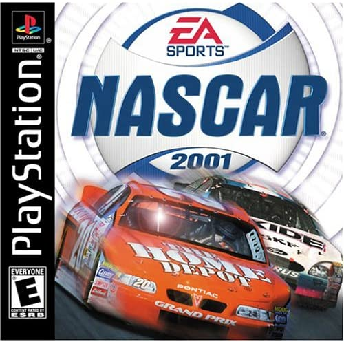 NASCAR 2001 For PlayStation 1 PS1 Racing