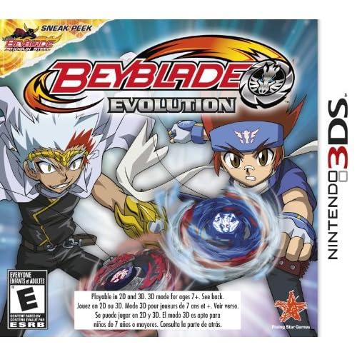 Beyblade: Evolution Nintendo For 3DS Fighting