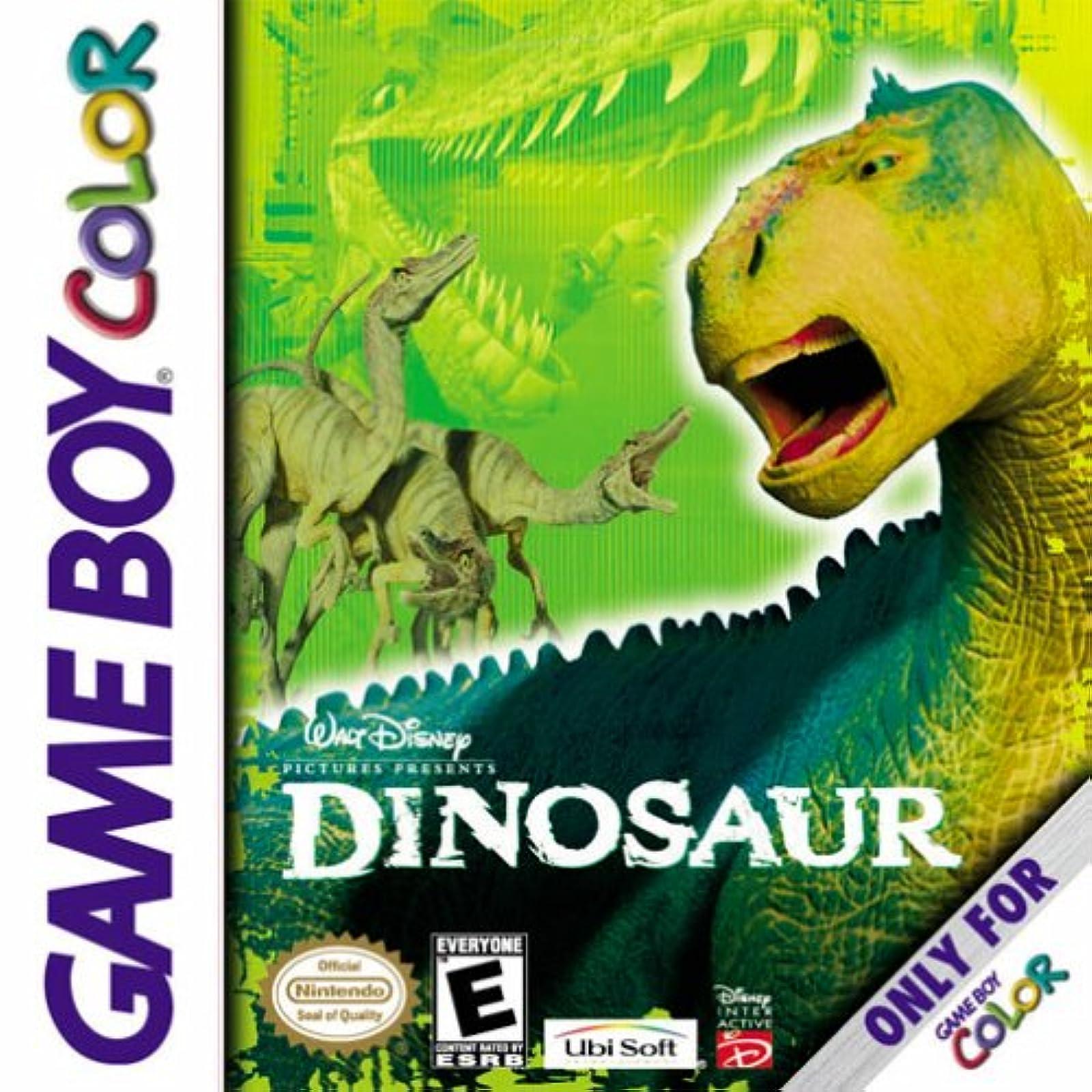 Dinosaur On Gameboy Action