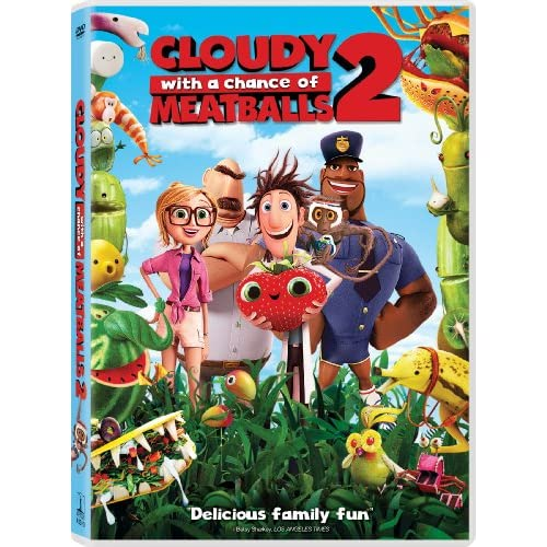 Cloudy With A Chance Of Meatballs 2 On DVD With Kristen Schaal
