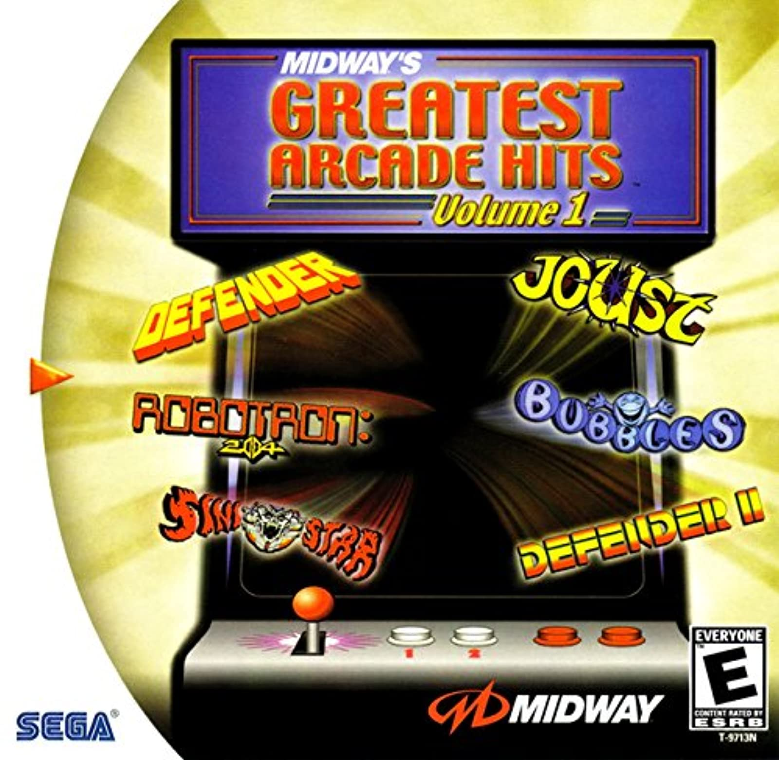Midway Greatest Arcade Hits Vol 1 DC For Sega Dreamcast