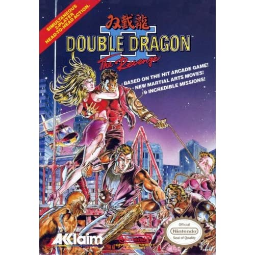 Double Dragon II: The Revenge For Nintendo NES Vintage