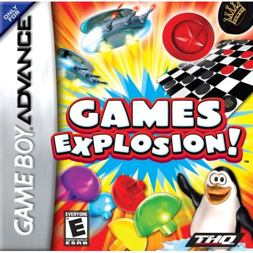 Games Explosion For GBA Gameboy Advance Arcade