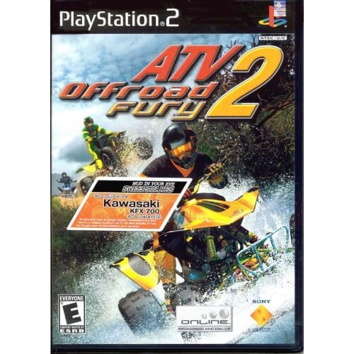 ATV Offroad Fury 2 For PlayStation 2 PS2 Racing