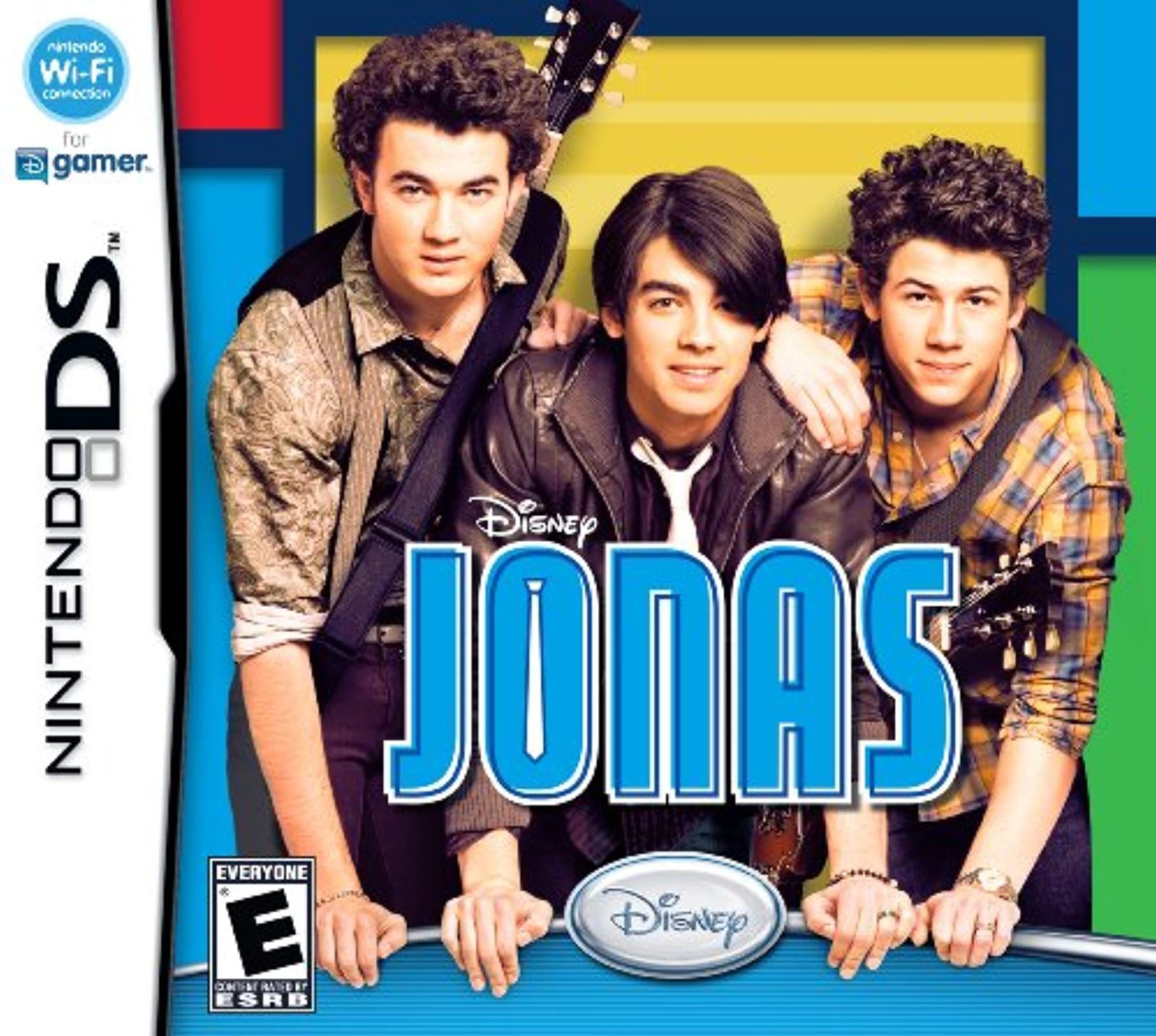 Disney's Jonas Brothers For Nintendo DS DSi 3DS 2DS Music