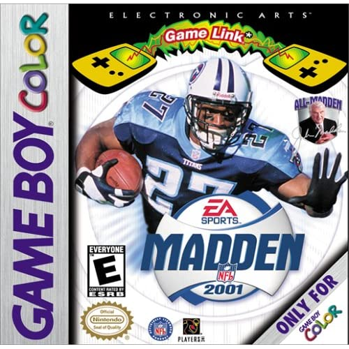 Madden NFL 2001 On Gameboy Color Football