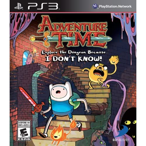 Adventure Time: Explore The Dungeon Because I Don't Know! PS3 For PlayStation 2