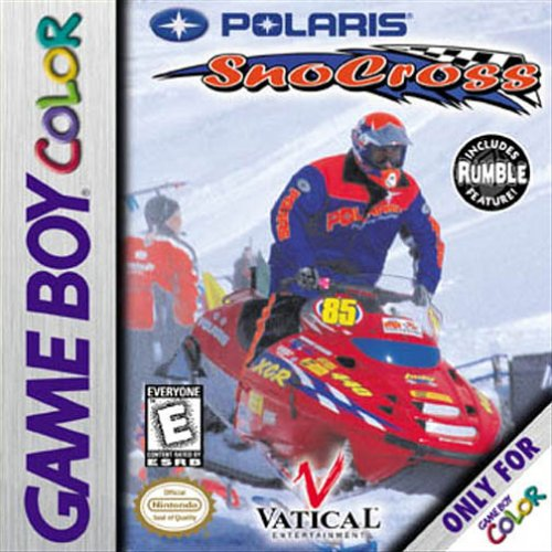 Polaris Snocross On Gameboy Extreme Sports On Gameboy Color