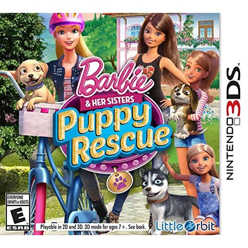 Barbie And Her Sisters: Puppy Rescue For Nintendo DS DSi 3DS 2DS