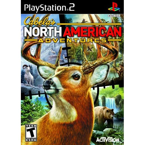 Cabela's North American Adventures 2011 For PlayStation 2 PS2 Shooter