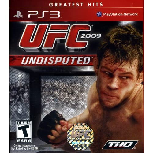 UFC Undisputed 2009 For PlayStation 3 PS3 Wrestling