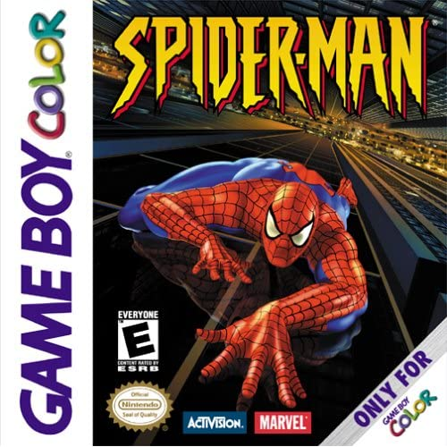 Spider-Man On Gameboy Color
