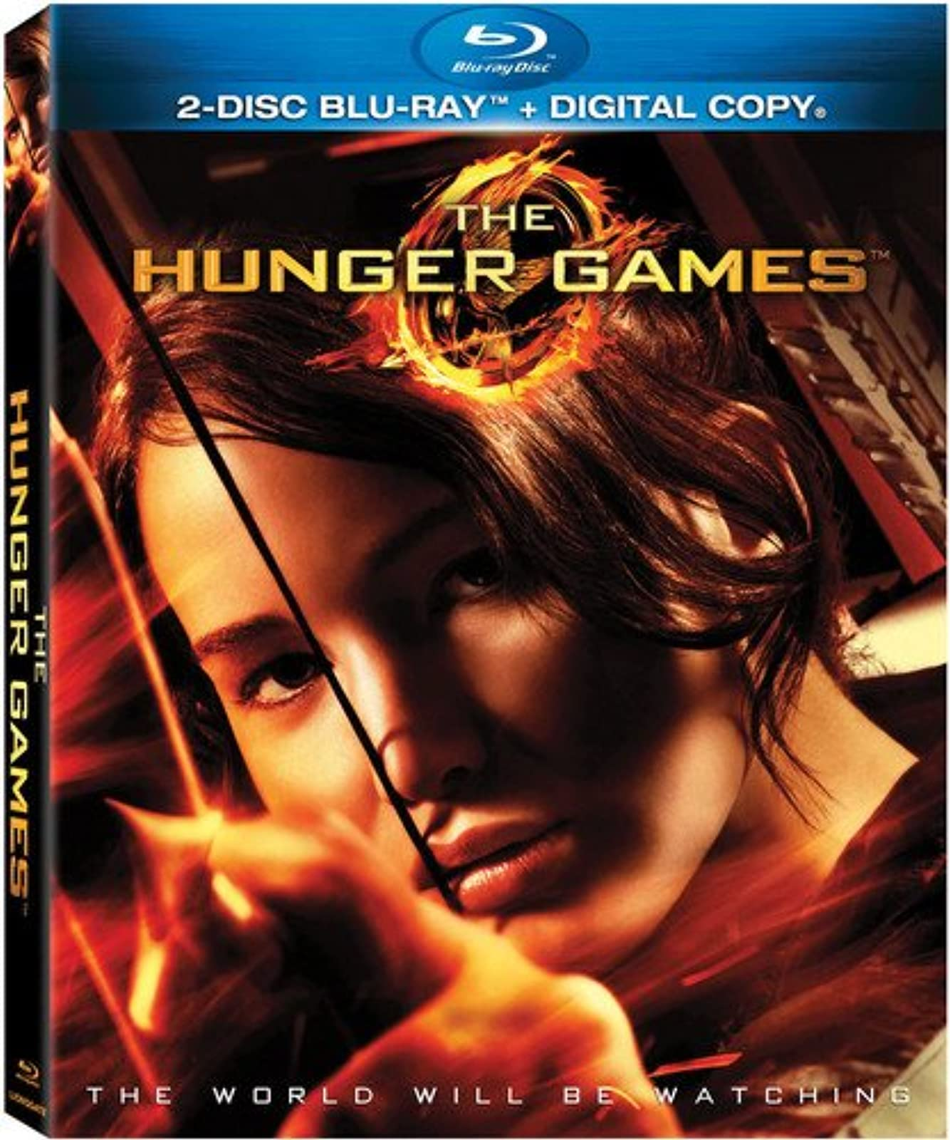 The Hunger Games Blu-Ray 2012 On Blu-Ray With Jennifer Lawrence