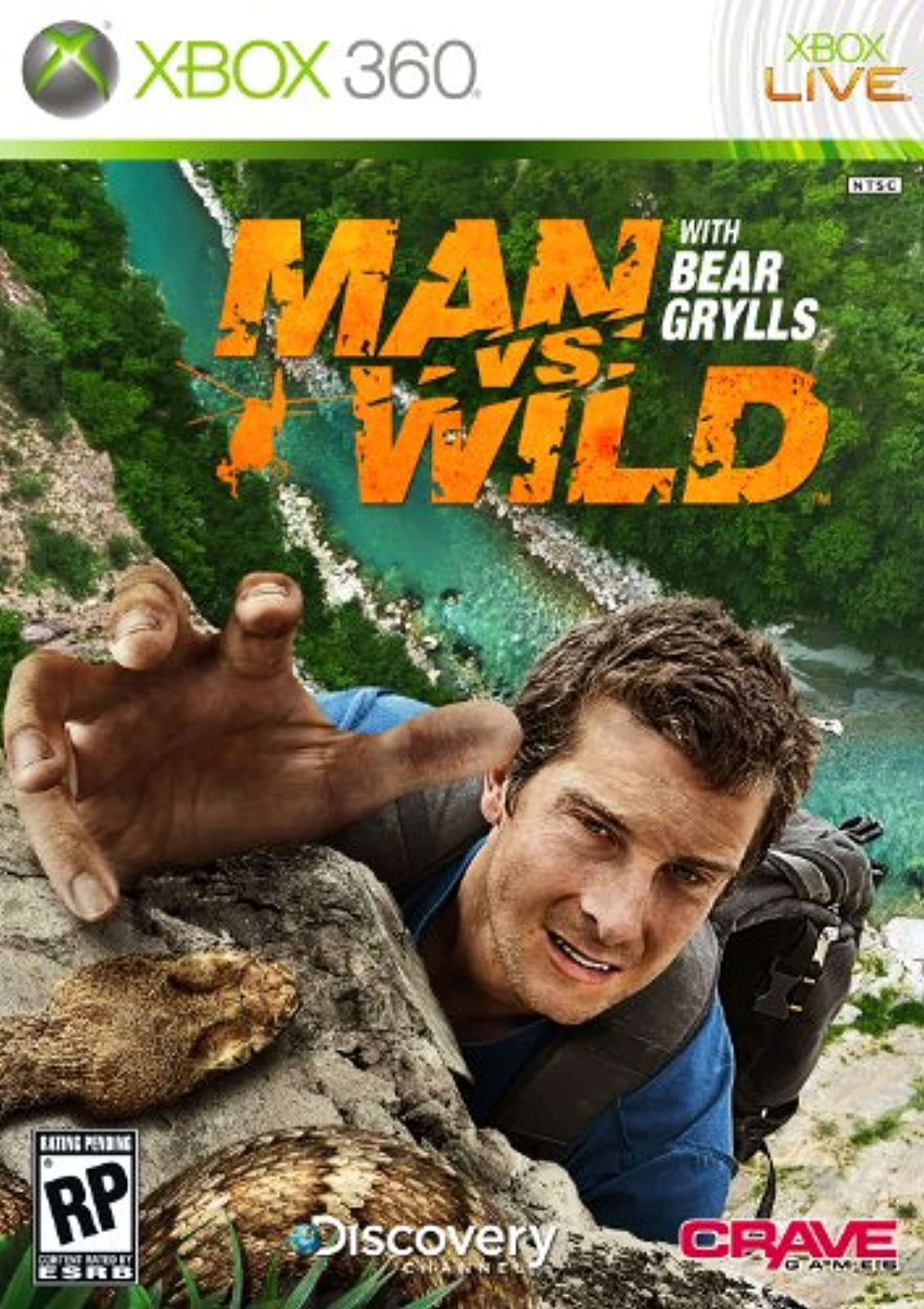 Man Vs Wild For Xbox 360