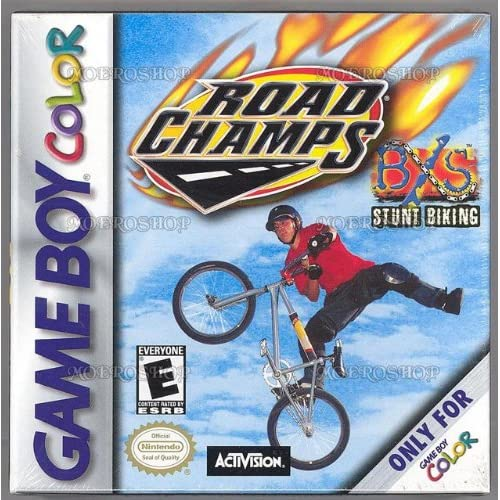 Road Champs Bxs: Stunt Biking On Gameboy Color