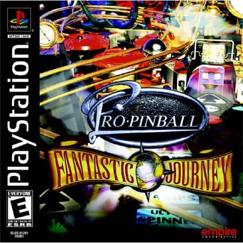 Pro Pinball: Fantasic Journey For PlayStation 1 PS1