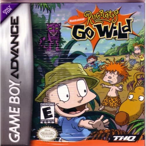 Rugrats Go Wild For GBA Gameboy Advance