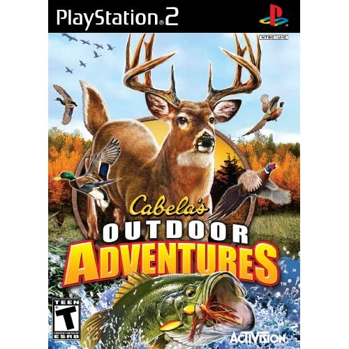 Cabela's Outdoor Adventures 2010 For PlayStation 2 PS2 Shooter