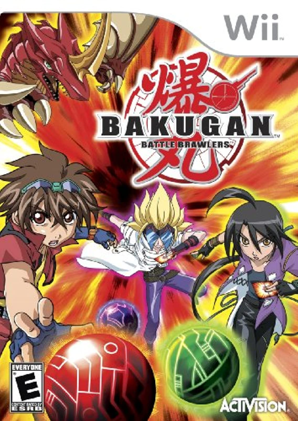 Bakugan Battle Brawlers For Wii And Wii U