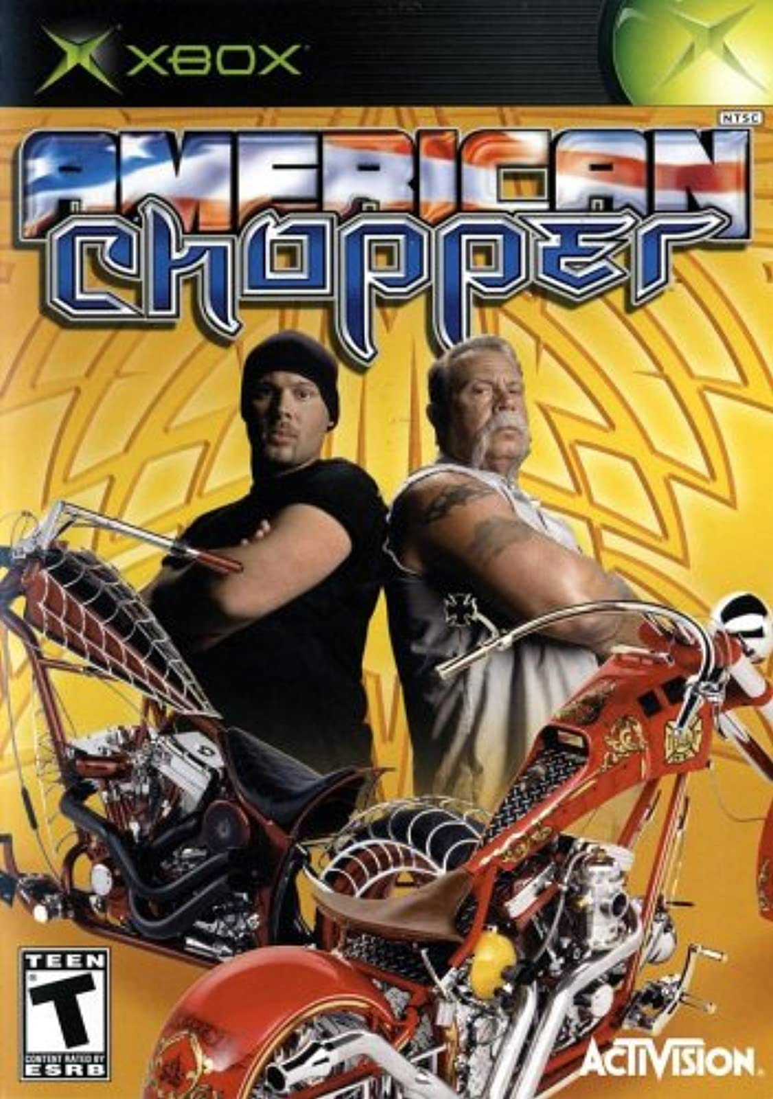 American Chopper Xbox For Xbox Original Racing