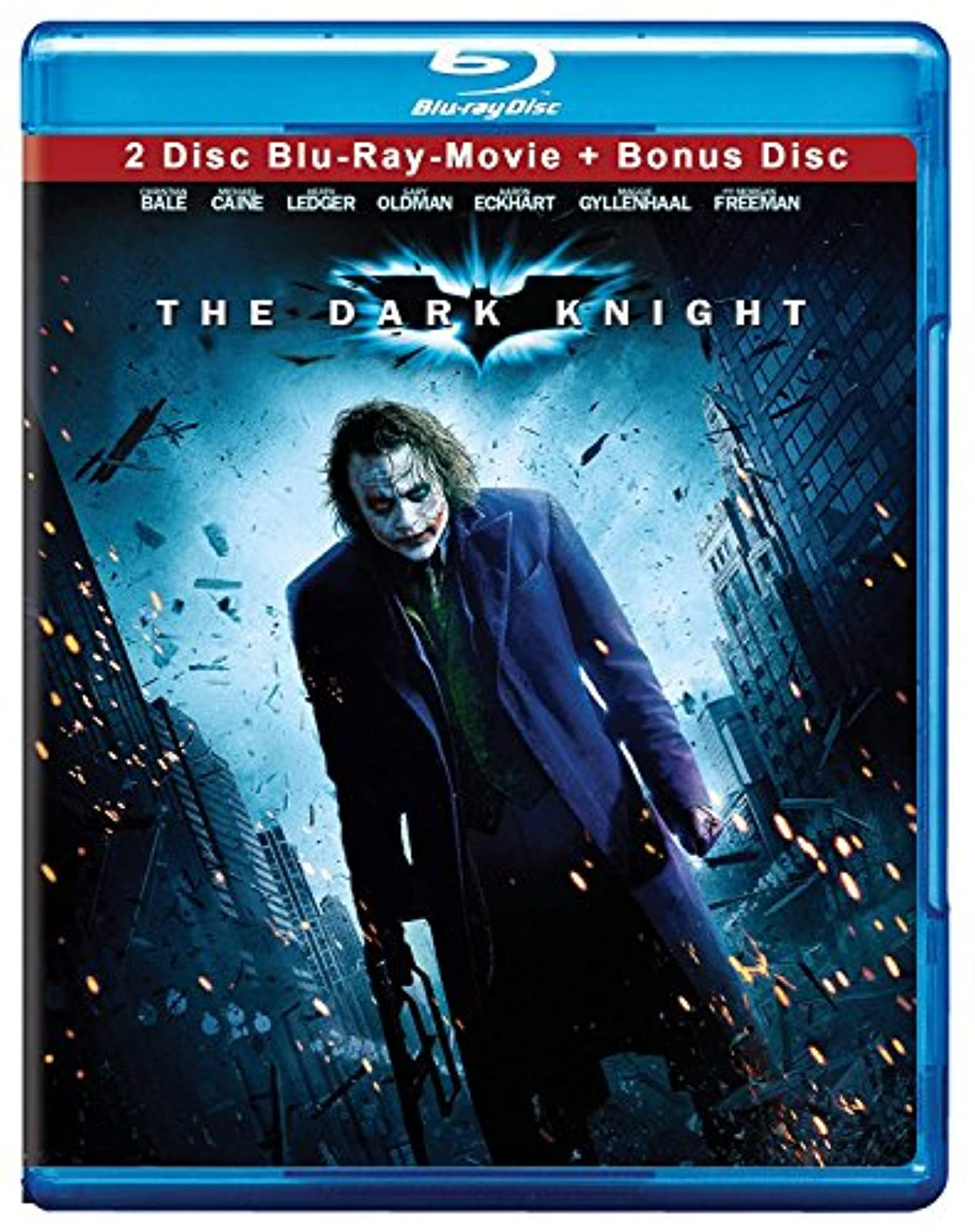 The Dark Knight Bd Live Blu-Ray On Blu-Ray With Christian Bale