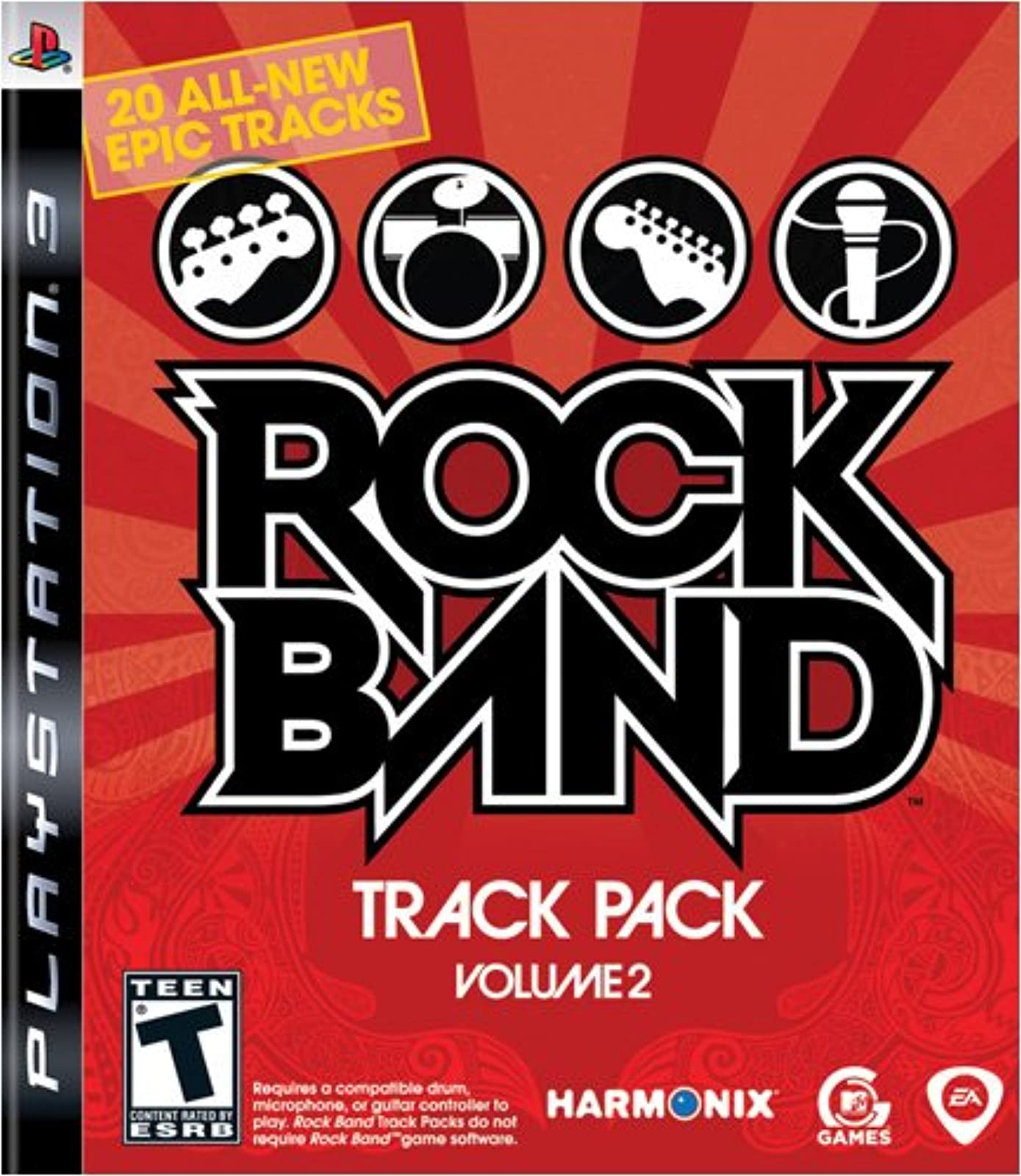 Rock Band Track Pack: Vol 2 PS3 For PlayStation 3