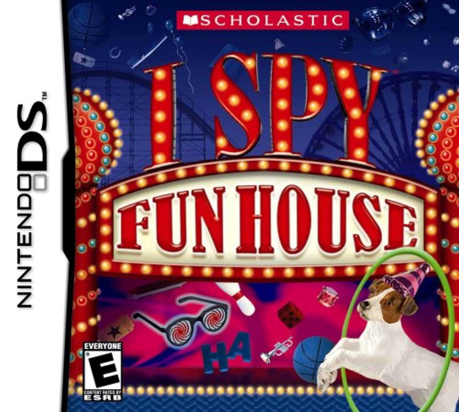 I Spy Fun House For Nintendo DS DSi 3DS 2DS Puzzle