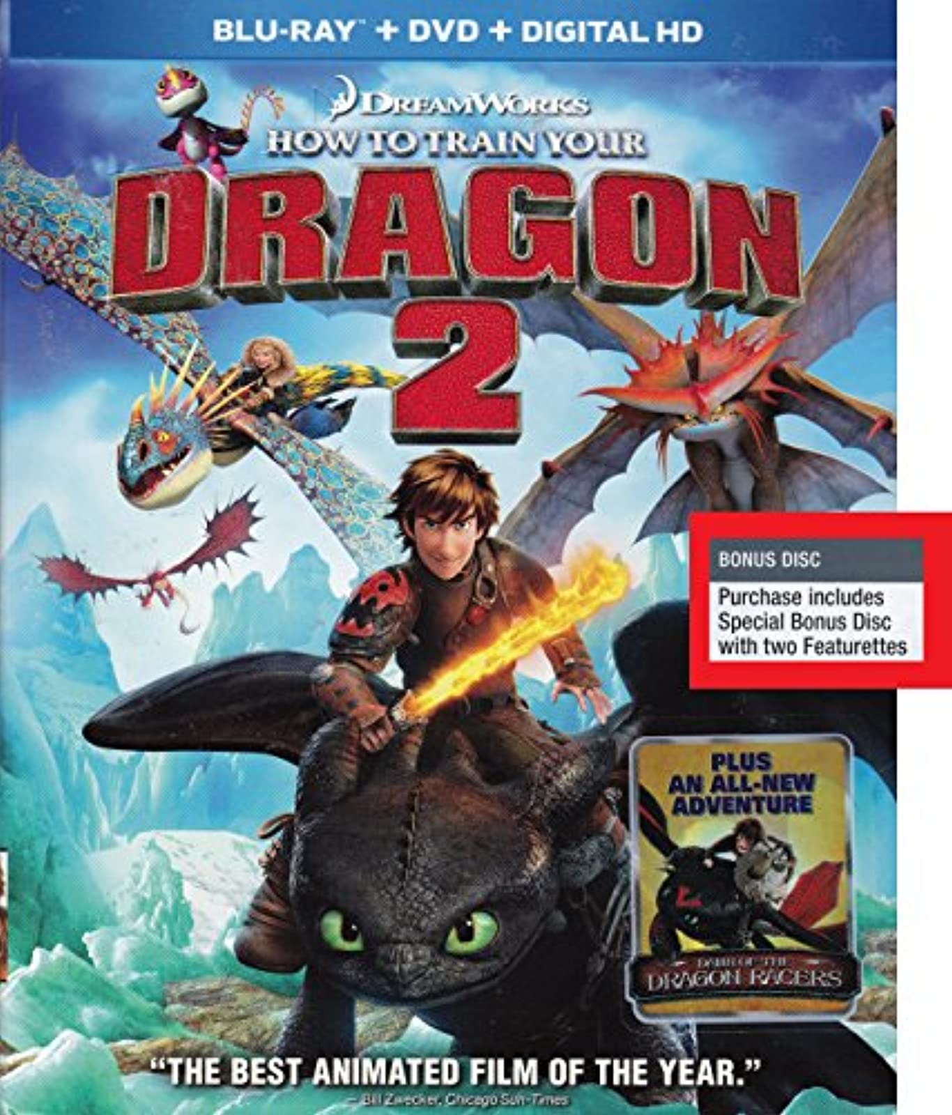 How To Train Your Dragon 2 Blu-Ray On Blu-Ray Anime