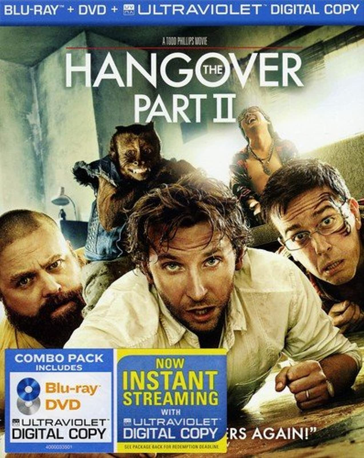 The Hangover Part II On Blu-Ray With Bradley Cooper