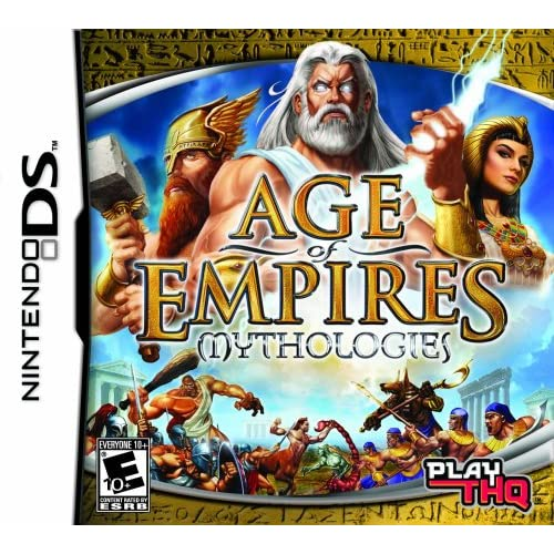 Age Of Empires: Mythologies Strategy For Nintendo DS DSi 3DS