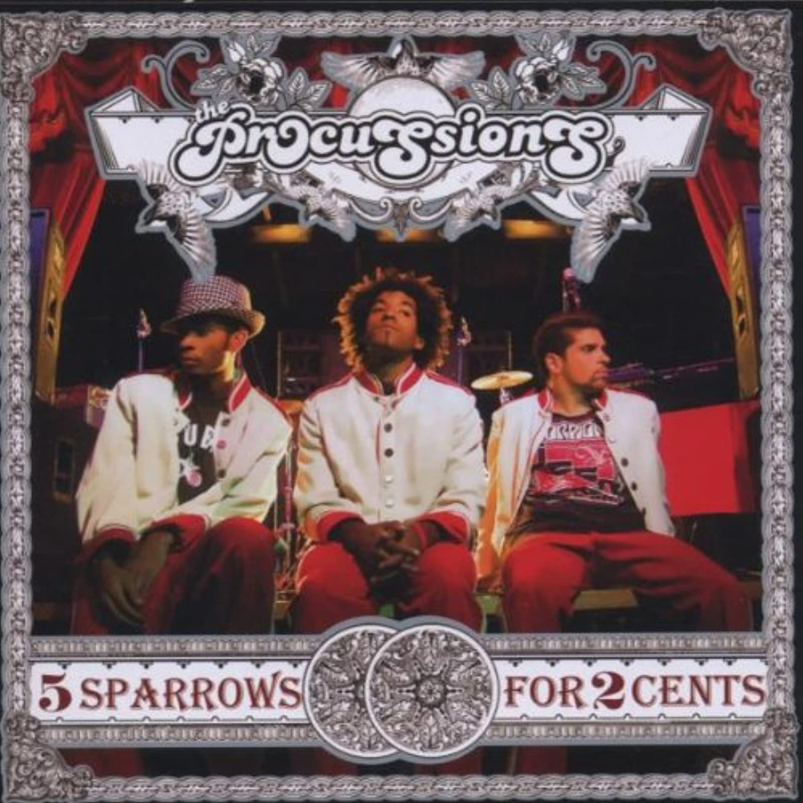 5 Sparrows For 2 Cents By The Procussions On Audio CD Album 2006 Rap